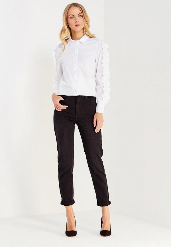 Фото 2 - женские джинсы LOST INK черного цвета