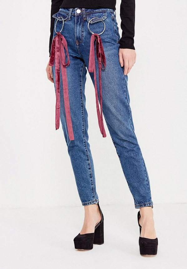 Джинсы LOST INK LOST INK LO019EWYBP41 джинсы lost ink mom jean with gingham patching