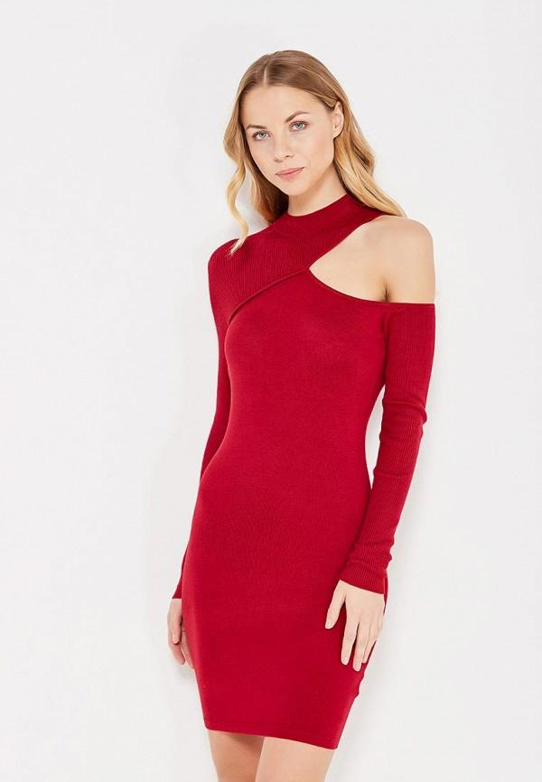 женское платье lost ink, красное