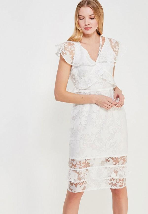женское вечерние платье lost ink, белое