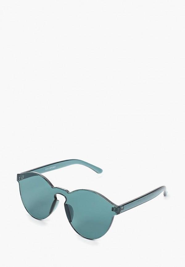 женские солнцезащитные очки love republic, зеленые