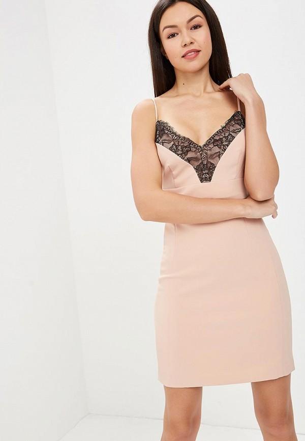 Купить Платье Love Republic, LO022EWBCFG6, бежевый, Весна-лето 2018