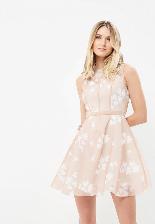 Купить Платье Love Republic, LO022EWBCFG8, бежевый, Весна-лето 2018