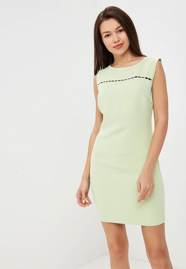 женское повседневные платье love republic, зеленое