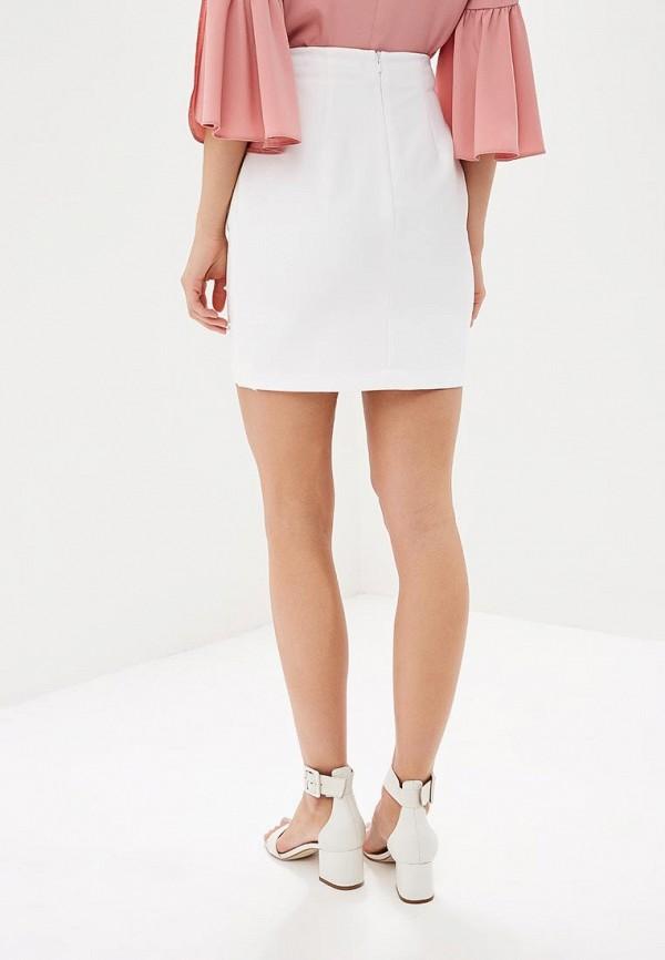 Фото 3 - женскую юбку Love Republic белого цвета