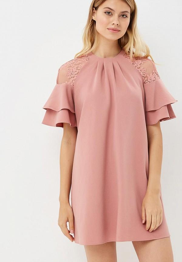 Купить Платье Love Republic, LO022EWBVNV3, розовый, Осень-зима 2018/2019