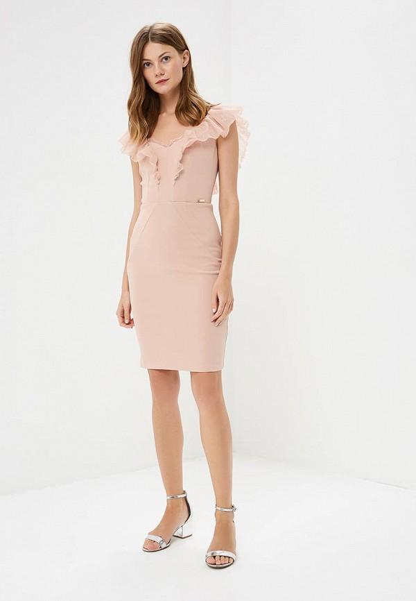 Фото 2 - женское платье Love Republic розового цвета