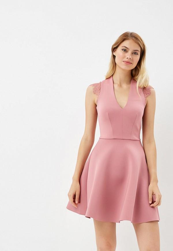 Купить Платье Love Republic, LO022EWBVNZ9, розовый, Осень-зима 2018/2019