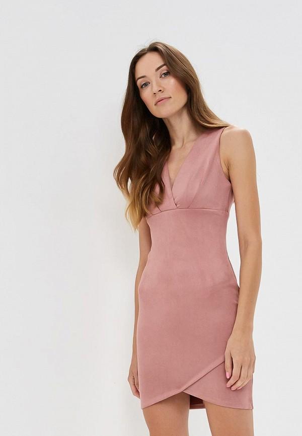 Купить Платье Love Republic, LO022EWBVOB8, розовый, Осень-зима 2018/2019