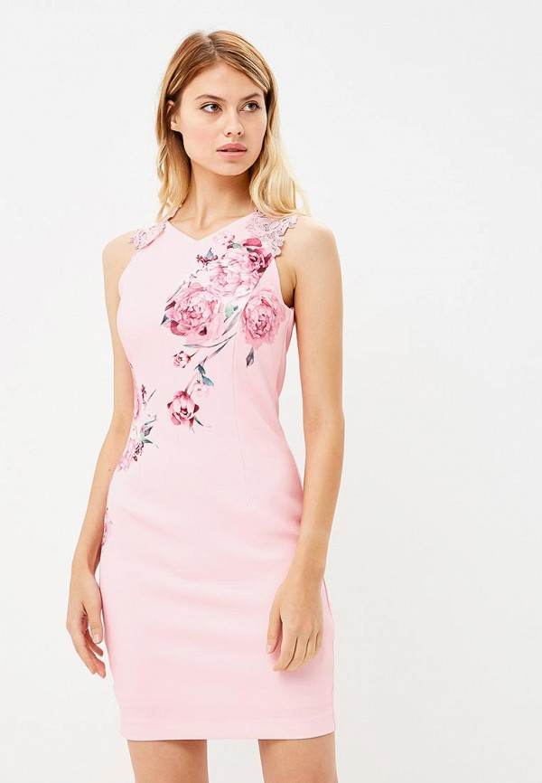 Купить Платье Love Republic, LO022EWBVOD7, розовый, Осень-зима 2018/2019