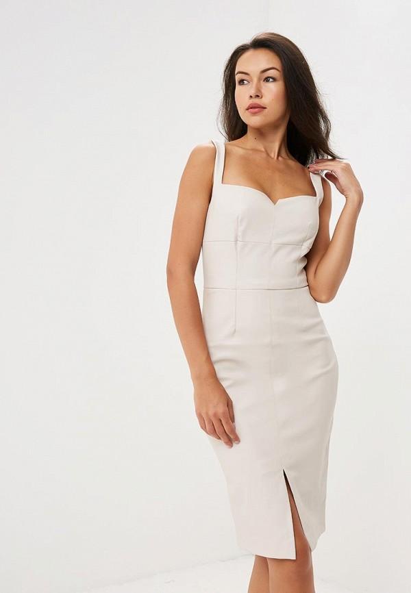 Купить Платье Love Republic, lo022ewbvol0, бежевый, Осень-зима 2018/2019