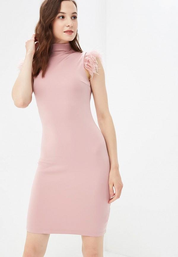 Купить Платье Love Republic, LO022EWBVON0, розовый, Осень-зима 2018/2019