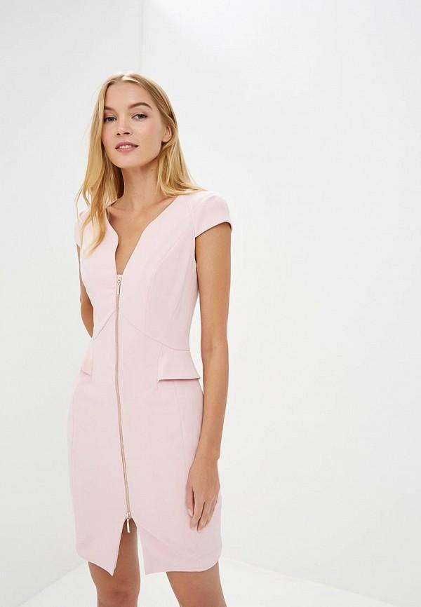 Купить Платье Love Republic, lo022ewbvpd1, розовый, Осень-зима 2018/2019