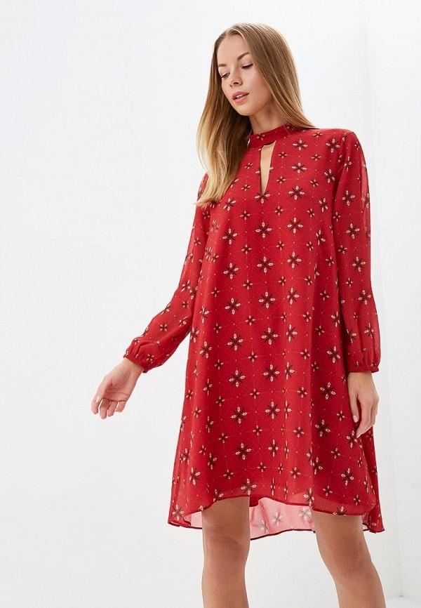Купить Платье Love Republic, LO022EWCEUL0, красный, Осень-зима 2018/2019