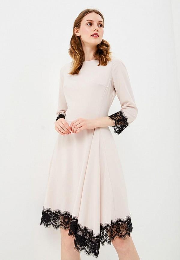 Купить Платье Love Republic, lo022ewceul8, бежевый, Осень-зима 2018/2019