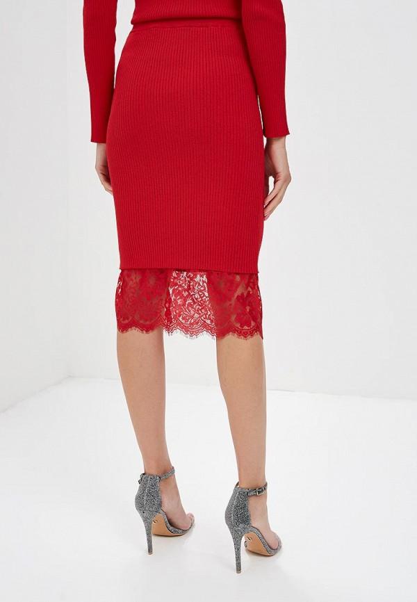 Фото 3 - женскую юбку Love Republic красного цвета