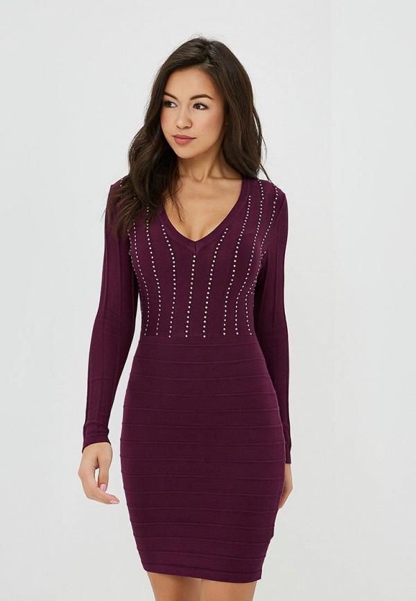 Купить Платье Love Republic, lo022ewctsm1, фиолетовый, Осень-зима 2018/2019