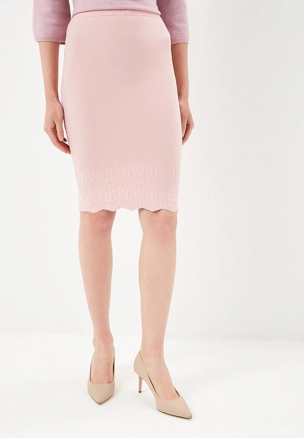 женская зауженные юбка love republic, розовая