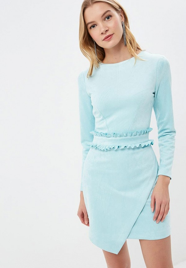 Купить Платье Love Republic, lo022ewdugu7, голубой, Весна-лето 2019