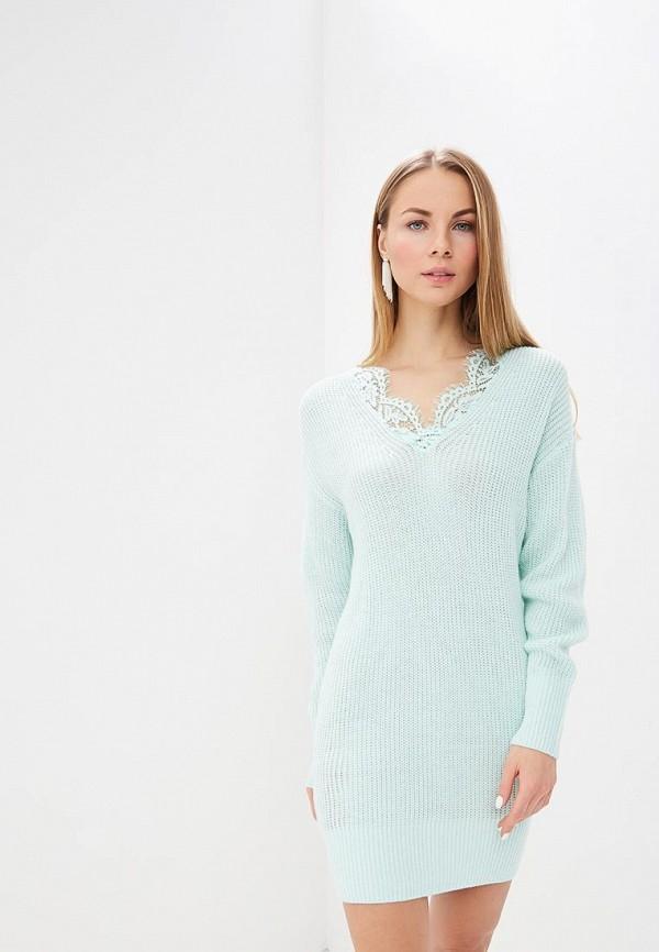 женское платье love republic, бирюзовое