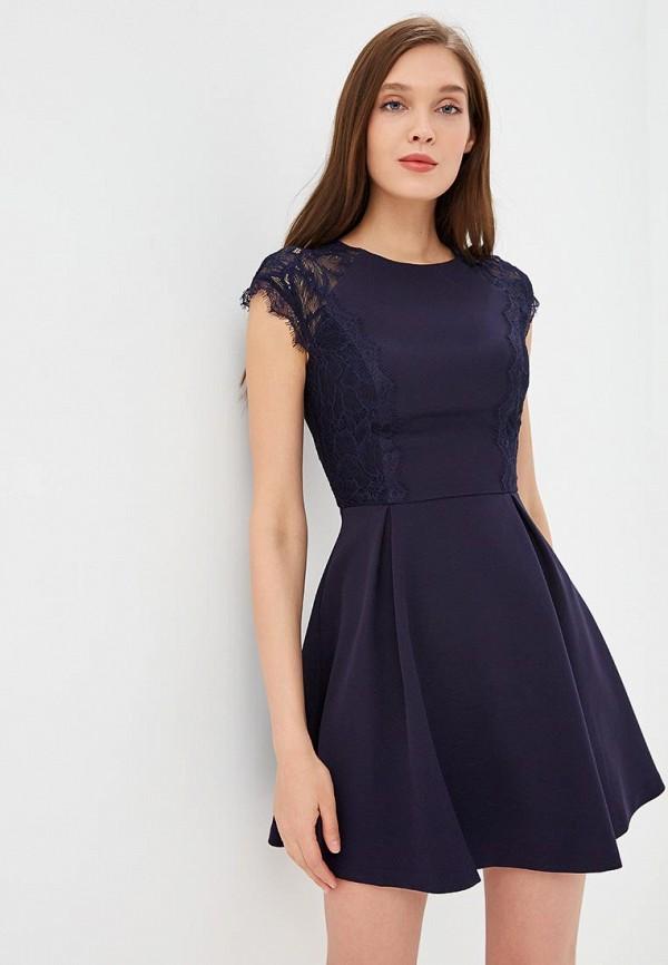 женское вечерние платье love republic, синее