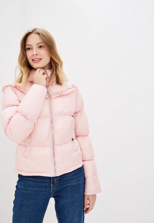 женская куртка love republic, розовая