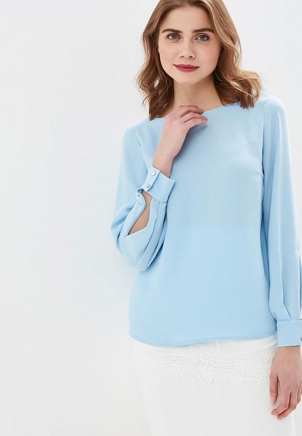 женская блузка love republic, голубая