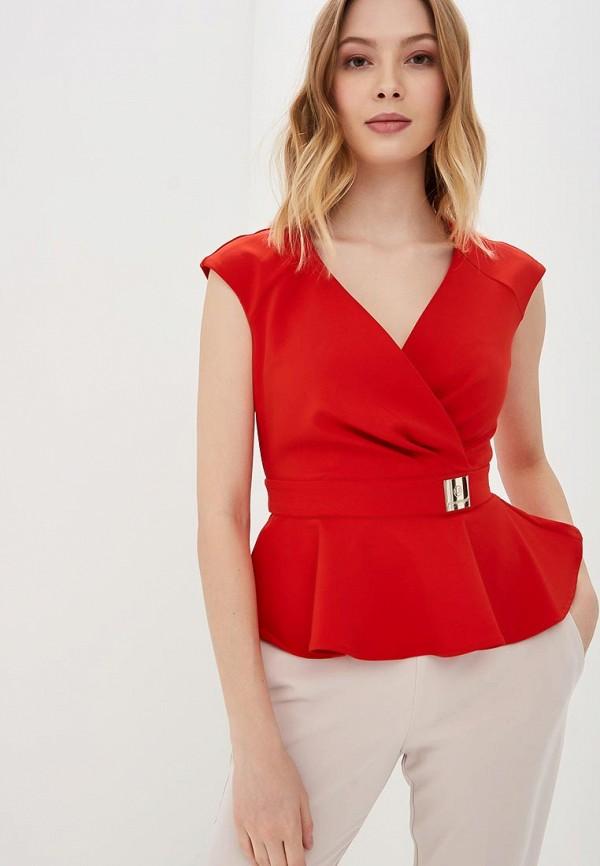 женская блузка love republic, красная