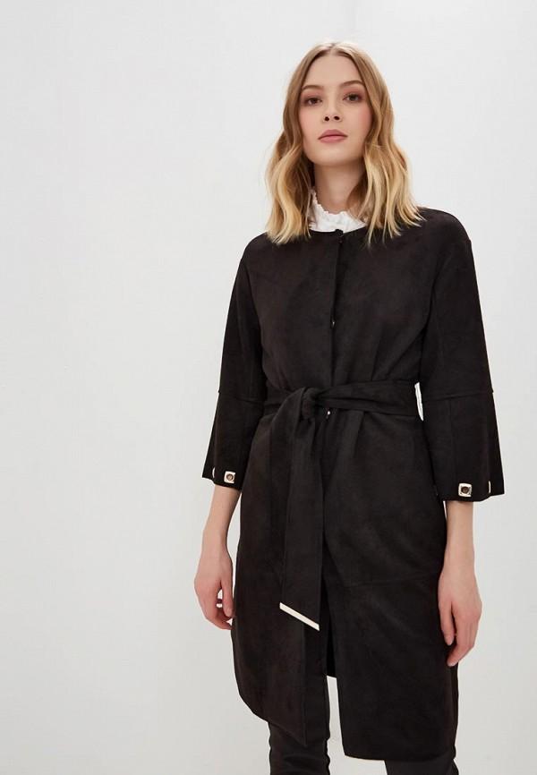 женское пальто love republic, черное