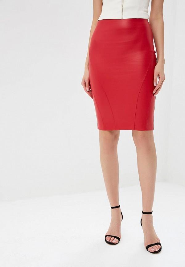 женская юбка love republic, красная