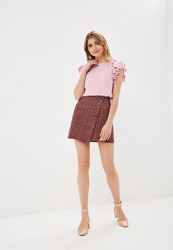 Фото 2 - женскую блузку Love Republic розового цвета