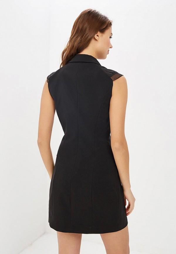 Фото 3 - женское вечернее платье Love Republic черного цвета