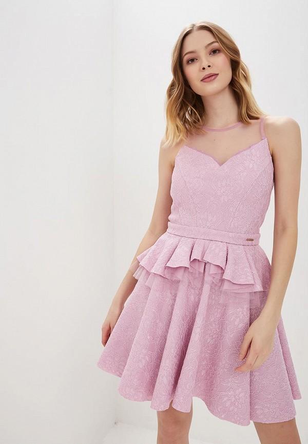 женское вечерние платье love republic, фиолетовое
