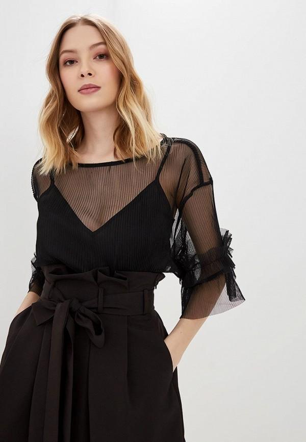 женская блузка love republic, черная