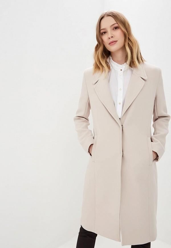 женское пальто love republic, бежевое