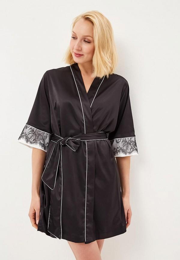 женский халат love republic, черный