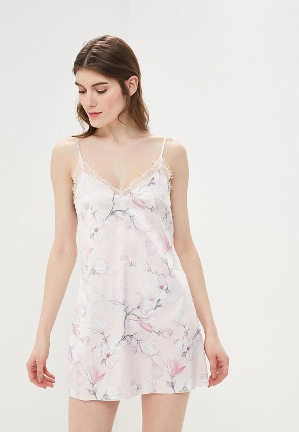 женские сорочка ночная love republic, розовые