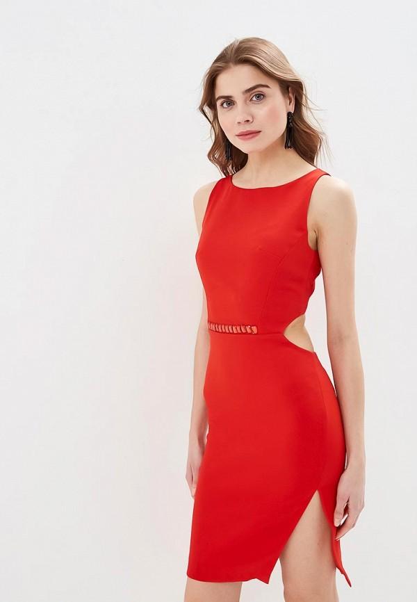 женское вечерние платье love republic, красное