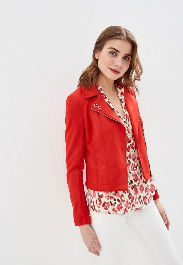 женская куртка love republic, красная