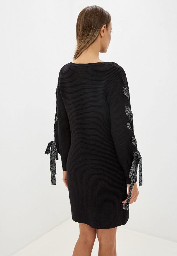 Фото 3 - женское платье Love Republic черного цвета