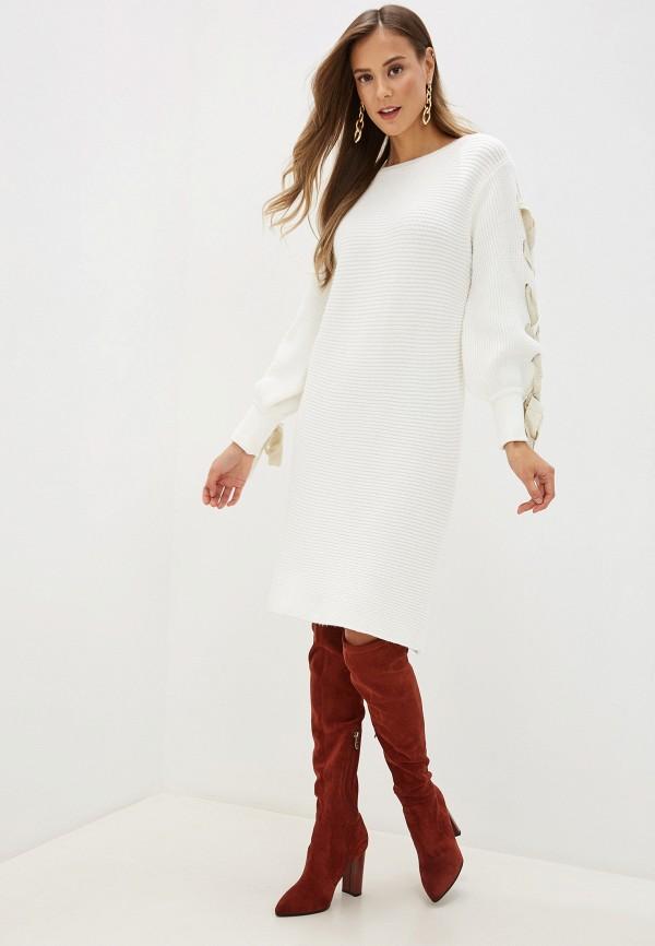 Фото 2 - женское платье Love Republic белого цвета