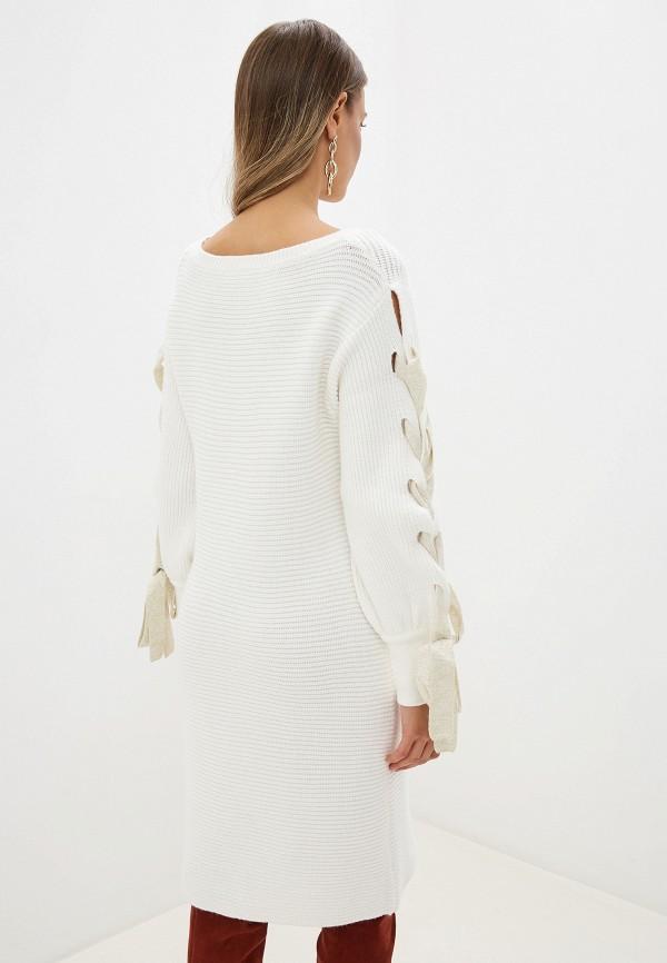Фото 3 - женское платье Love Republic белого цвета