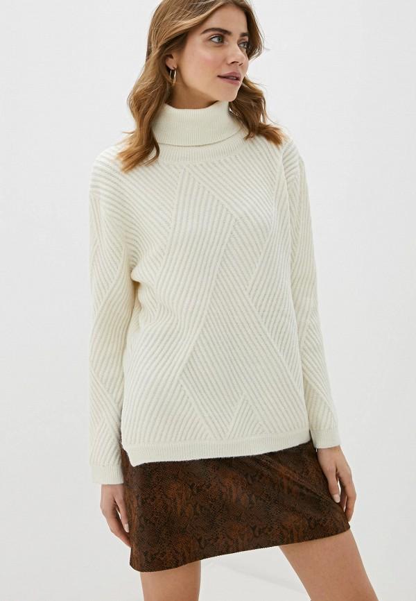 женский свитер love republic, белый