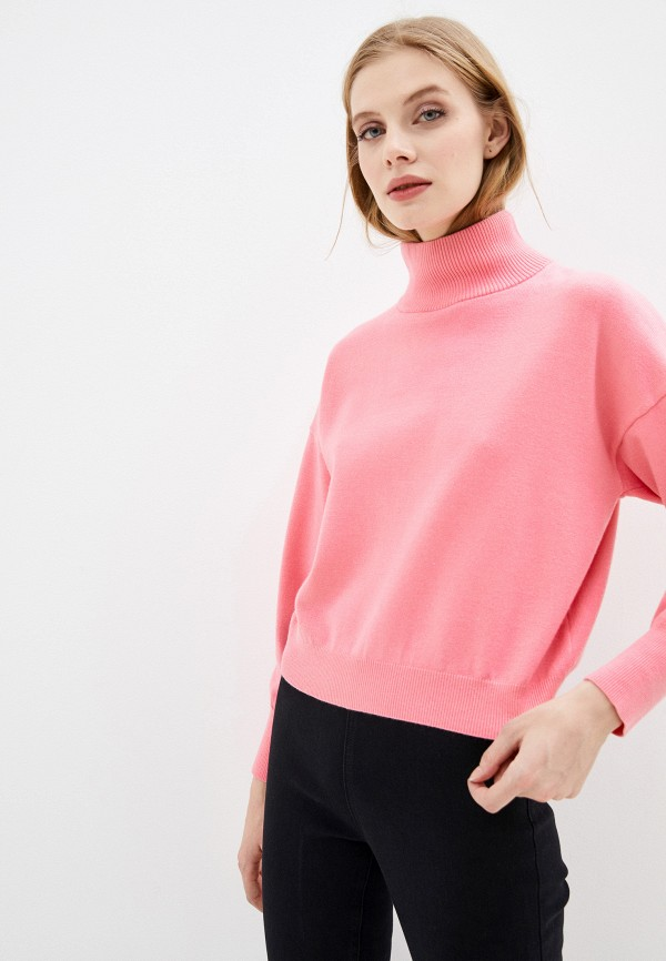 женский свитер love republic, розовый
