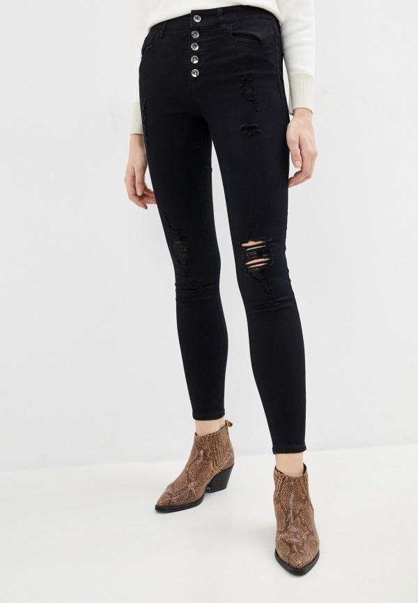 женские джинсы love republic, черные