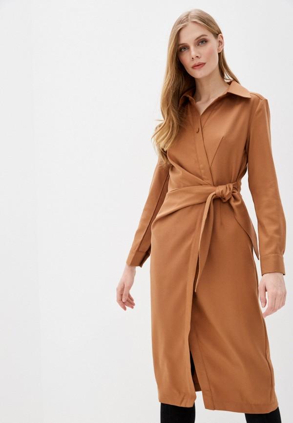 женское платье love republic, бежевое