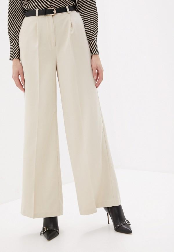 женские классические брюки love republic, бежевые