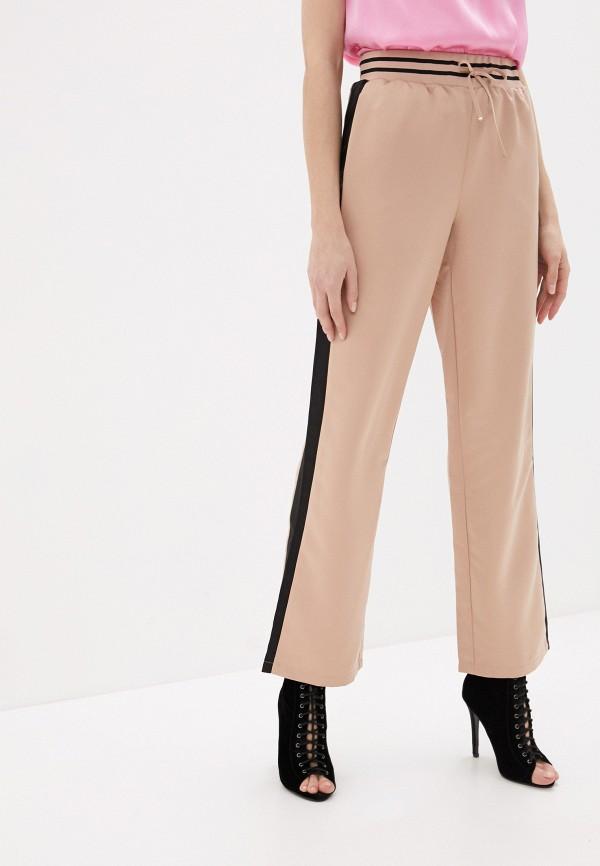 женские повседневные брюки love republic, бежевые