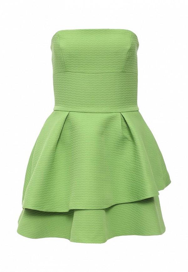 женское вечерние платье love republic, зеленое
