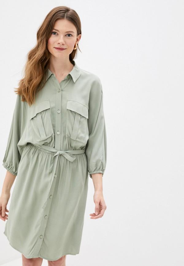 женское платье love republic, зеленое